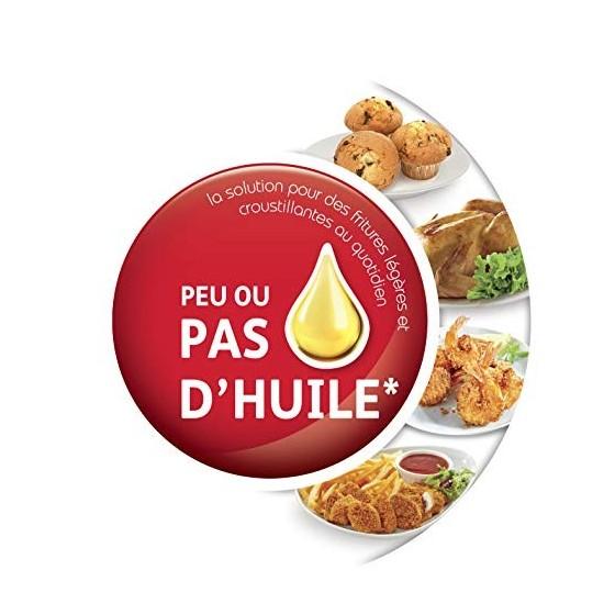 Moulinex Easy Fry Digital Friteuse sans huile XL 6 personnes 4,2L Ecran tactile 8 Programmes frites côtelettes crevettes gâte