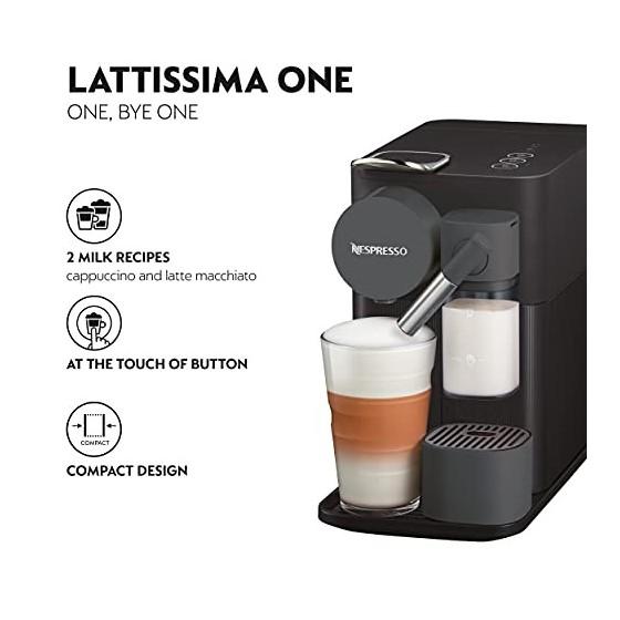DeLonghi Lattissima One Evo, Machine à café en capsules à usage
