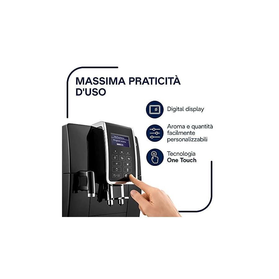 DeLonghi Dinamica, Machine expresso avec broyeur, technologie