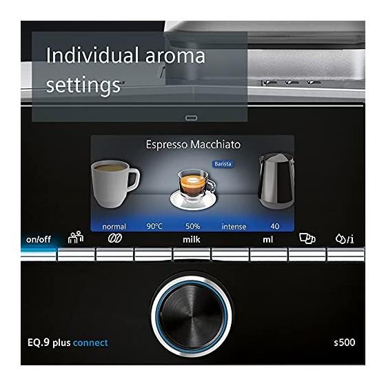 Siemens EQ.9 Plus Connect s500 TI9553X1RW – Machine à café