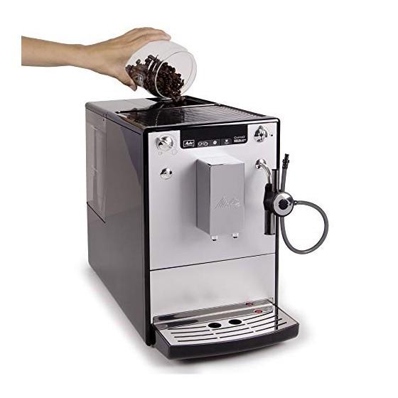 Melitta Caffeo Solo & Perfect Milk, Argent, E957-103, Machine à