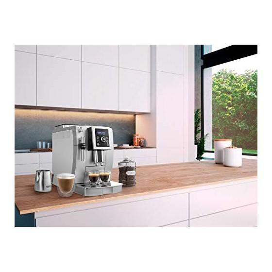 DeLonghi Machine expresso avec broyeur, ECAM23.420 SW, Argent et