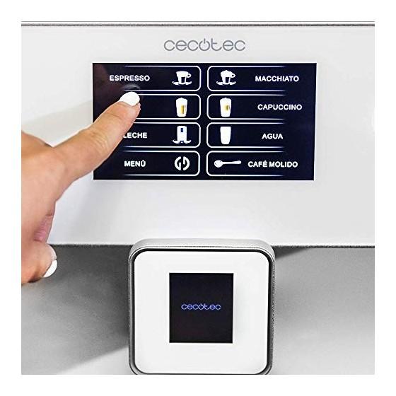 Cecotec Power Matic-ccino 8000 Touch Serie Bianca, Réservoir de