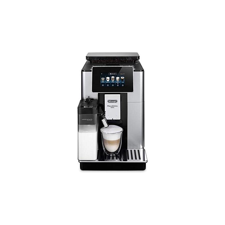 DeLonghi PrimaDonna ECAM610.55.SB machine à café Entièrement