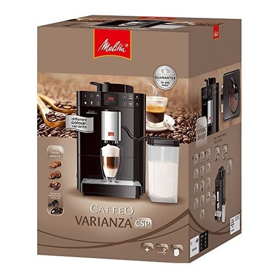 Melitta, Caffeo Varianza CSP Argent, F57/0-101, Machine à Café