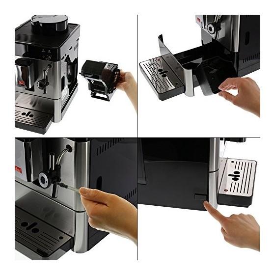 Melitta Caffeo Passione, Inox, F54/0-100, Machine à Café et