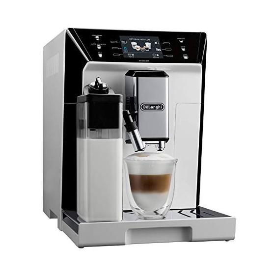 DeLonghi ECAM 556.55.W Combi Coffee Maker, 1450 W, 360