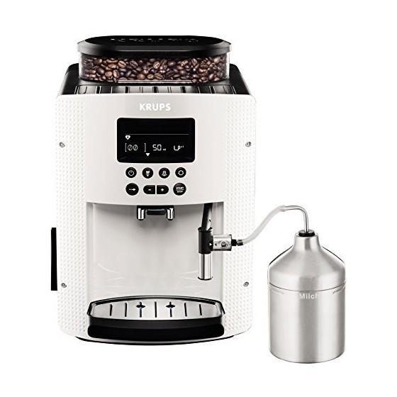 Krups Machine à café automatique 1,8 l, 15 bar, écran LC, système AutoCappuccino weiß