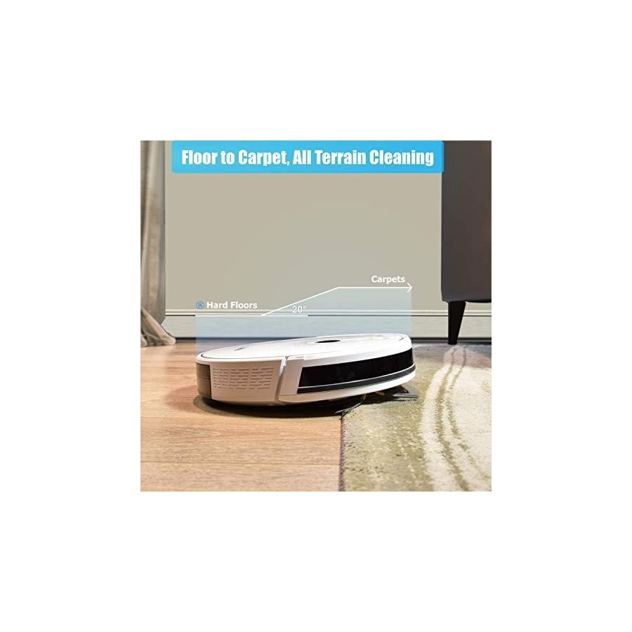 LUBY HI5 Recharge Automatique Robot Aspirateur Silencieux Poils