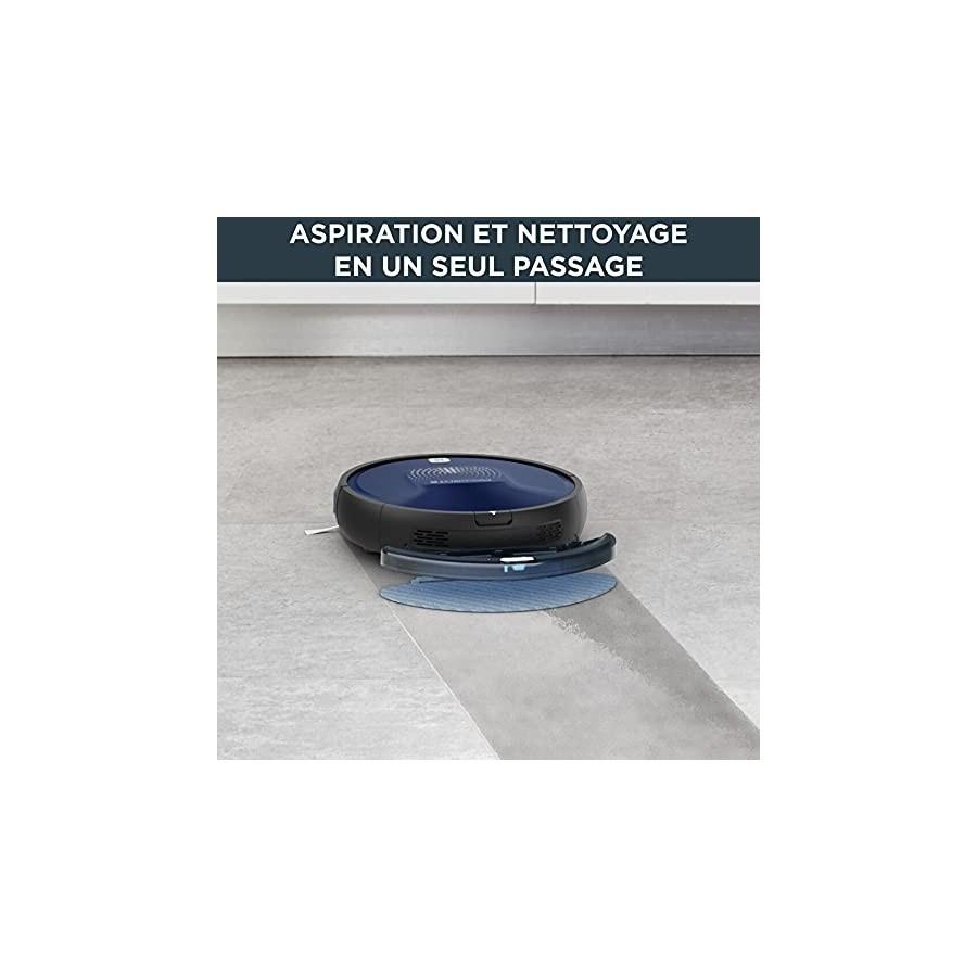 Rowenta X-Plorer Serie 20 Aspirateur robot, Aspire et lave les