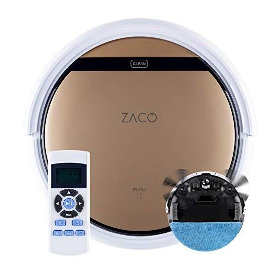 ZACO - Robot Aspirateur V5sPro avec Télécommande - Robots