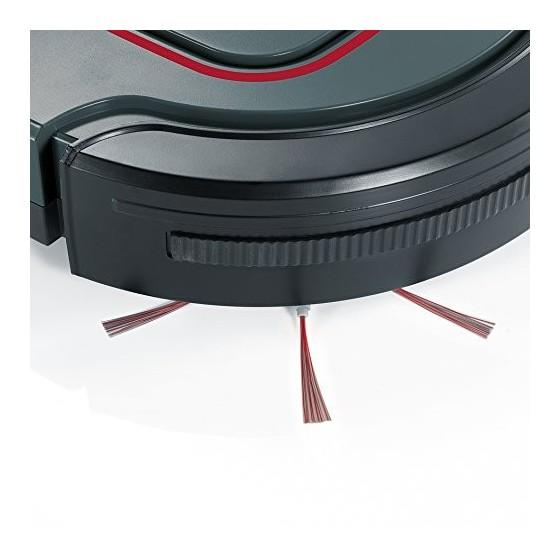Severin RB 7025, Aspirateur Robot  Accu Li-Ions 12,8V, chill  Gris/Rouge/Noir