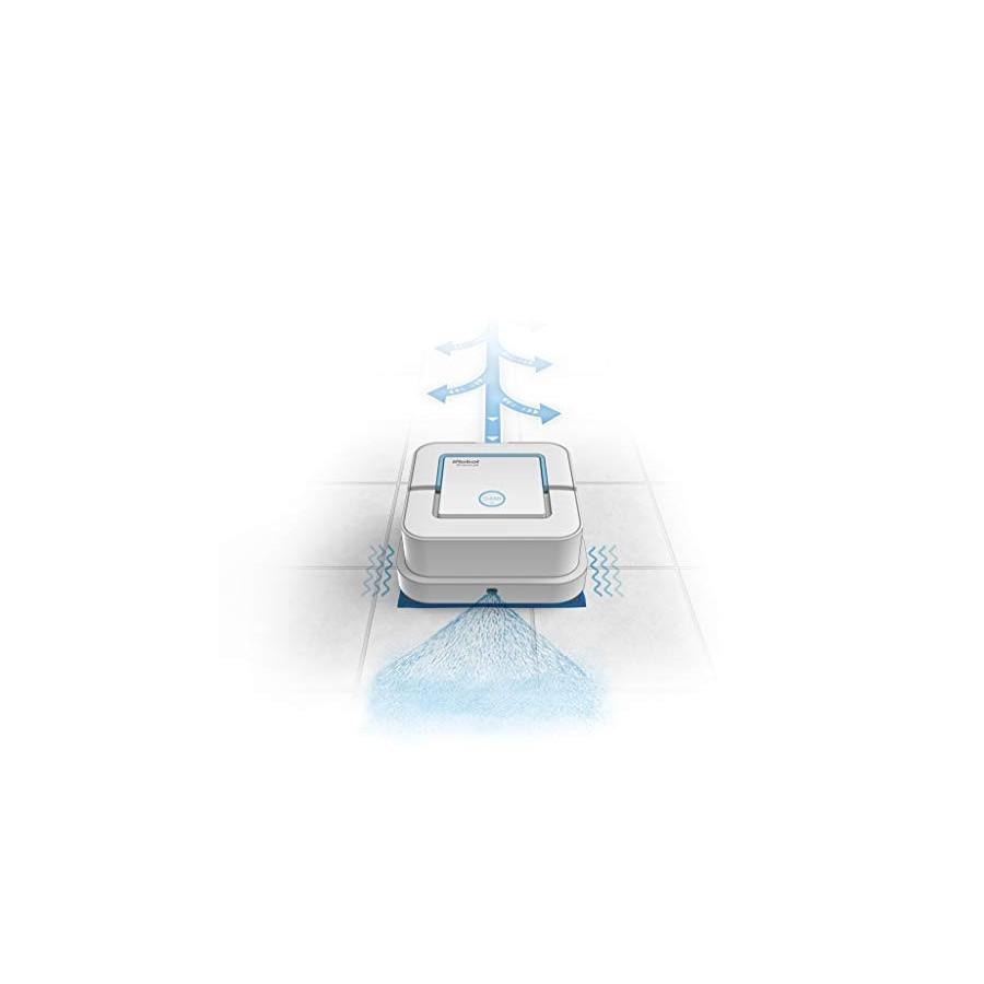 iRobot Braava jet 250, Robot laveur de Sols avec Pulvérisateur