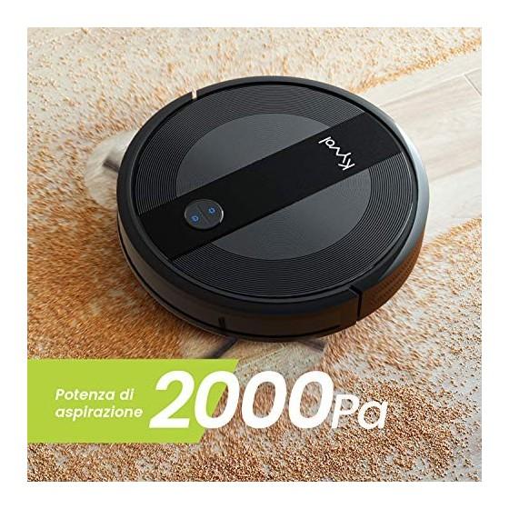 E20 Robot aspirateur 2000 PA, autonomie 150 Min, Automatic