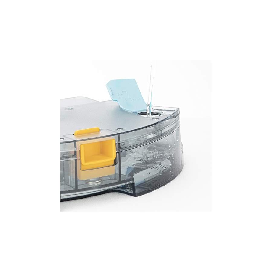 H.Koenig SWRC130 Aspirateur robot Gyro+ WaterMop connecté Wifi