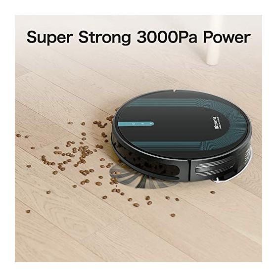 Proscenic 850T Aspirateur Robot, Aspirateur et Laveur de Sol 2