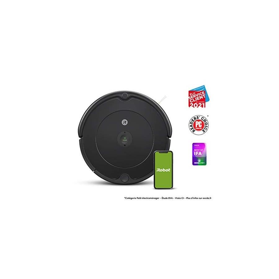 Aspirateur robot iRobot Roomba 692 connecté via Wi-Fi - Idéal