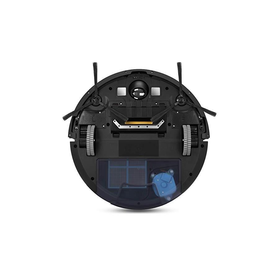 ZACO - robot aspirateur V80 avec télécommande, récipient XXL 750