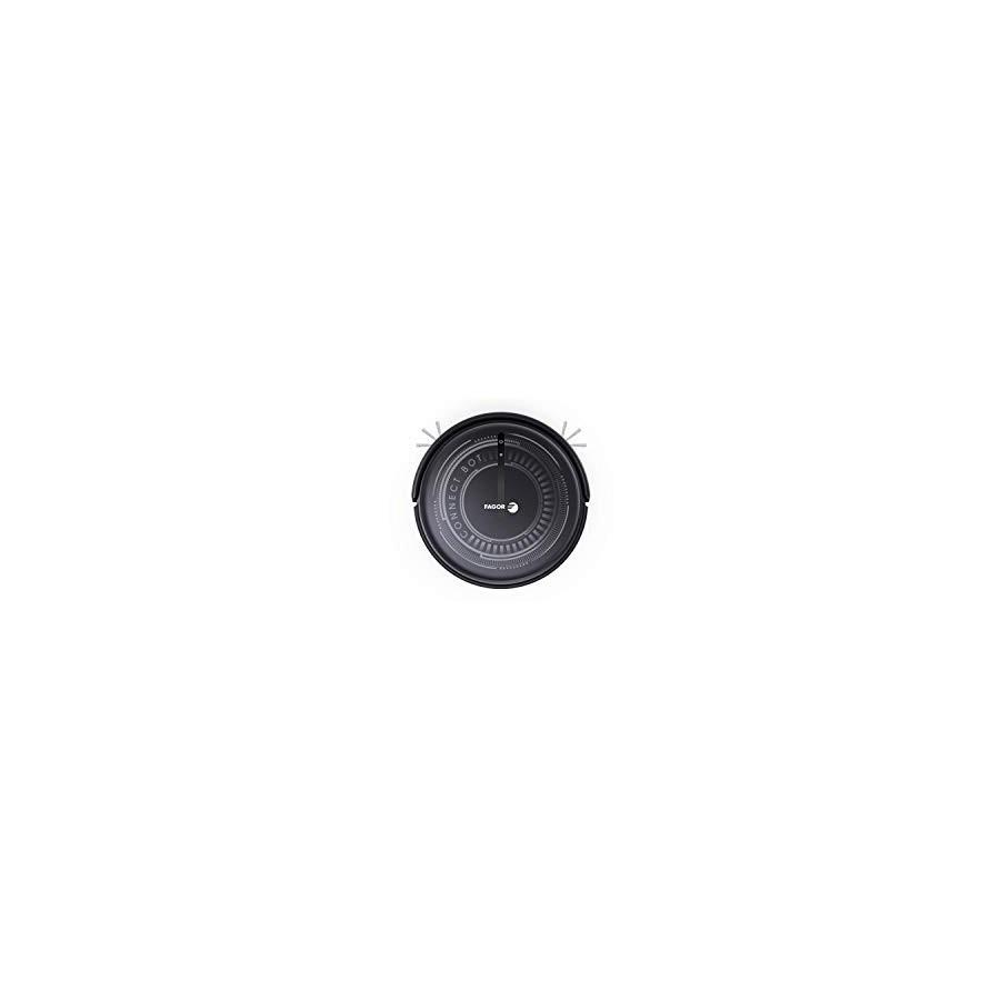 FAGOR FG2120, ASPIRATEUR Robot WiFi, Noir