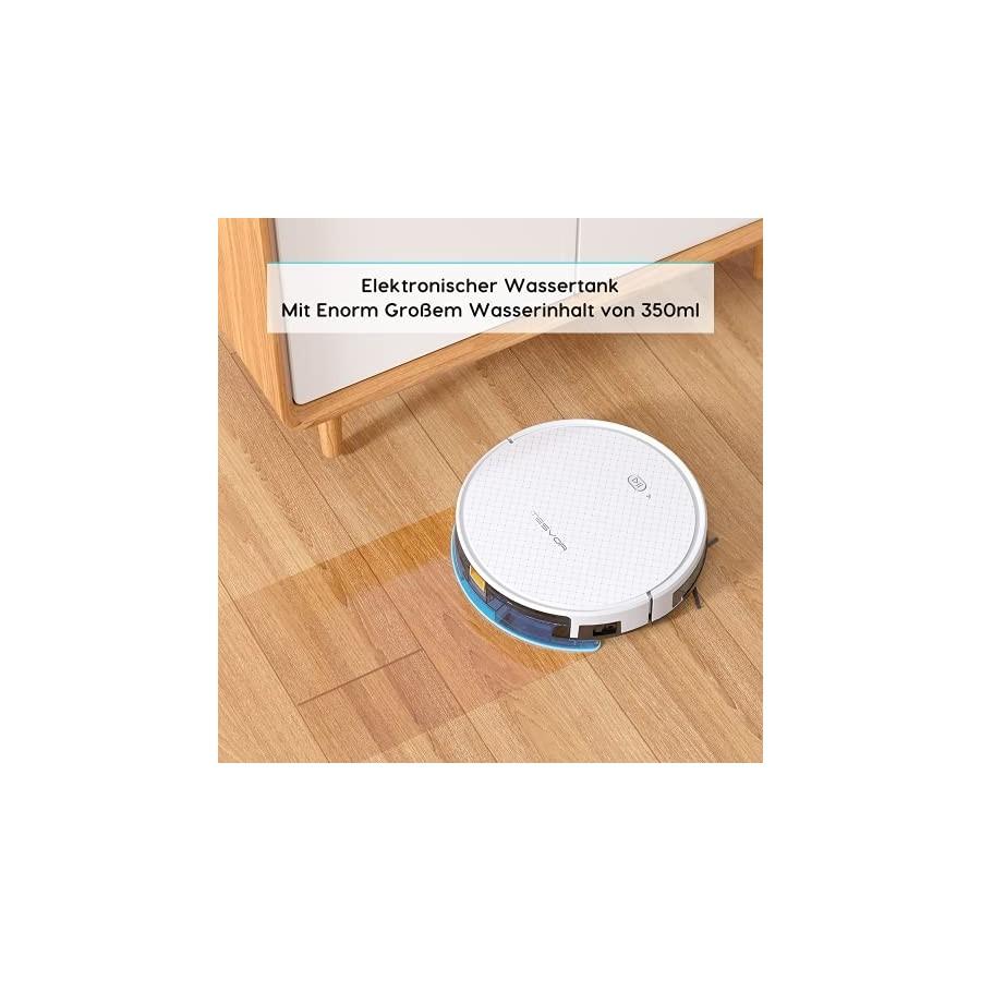 Robot aspirateur TESVOR X500pro - Aspirateur robot 2 en 1 -