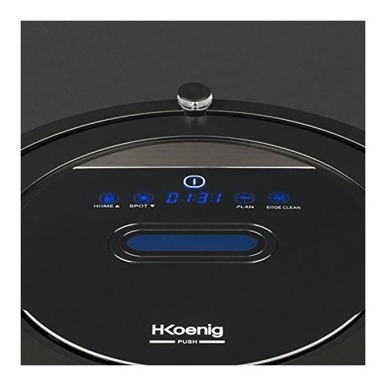 H. Koenig swrc110 Robot Aspirateur WiFi +/Aspirateur