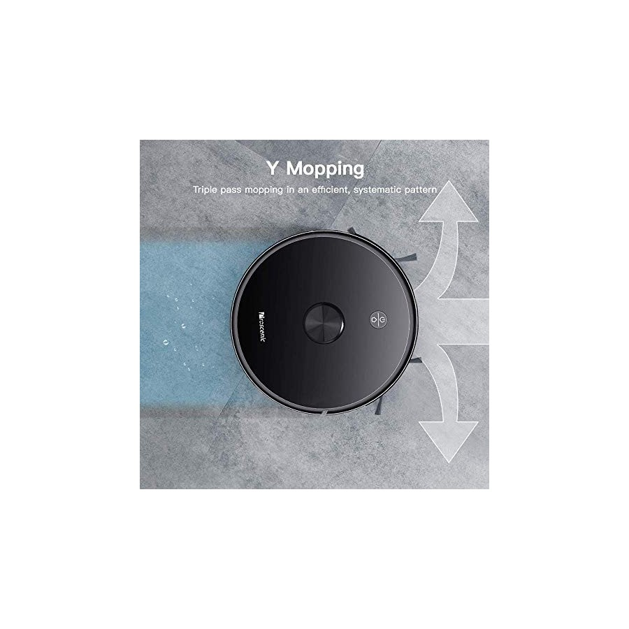 Proscenic M7 PRO Aspirateur Robot, avec Laser Navigation