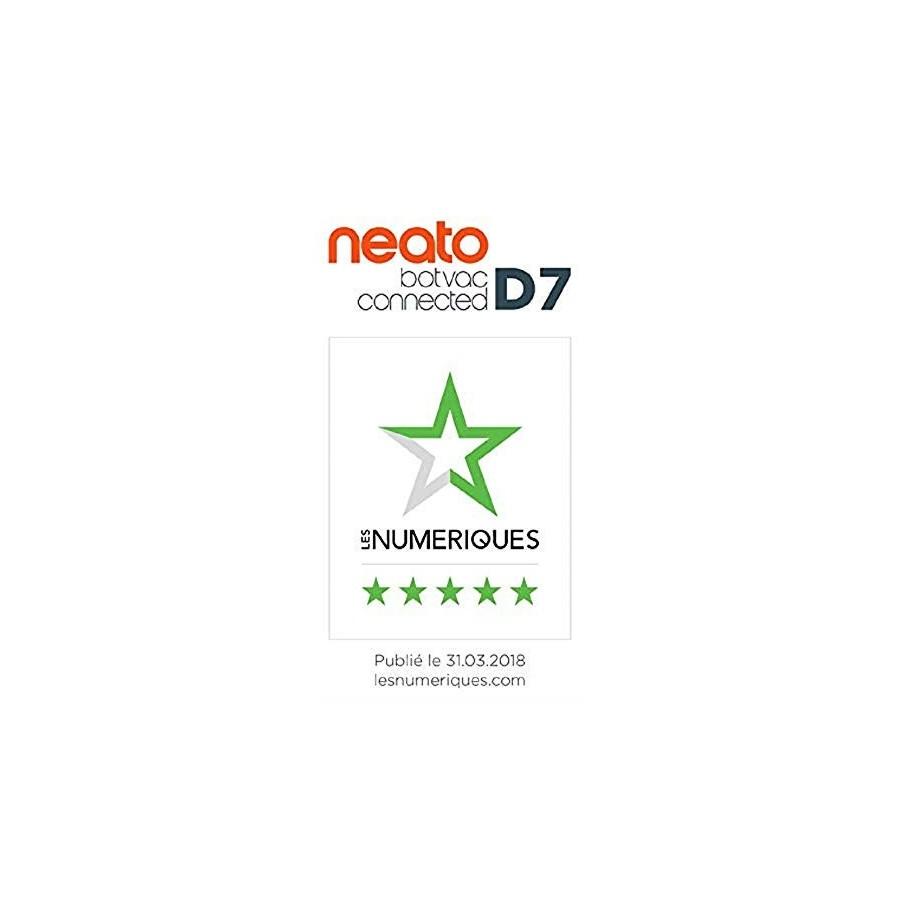 Neato Robotics D7 Aspirateur Robot Intelligent - Compatible avec