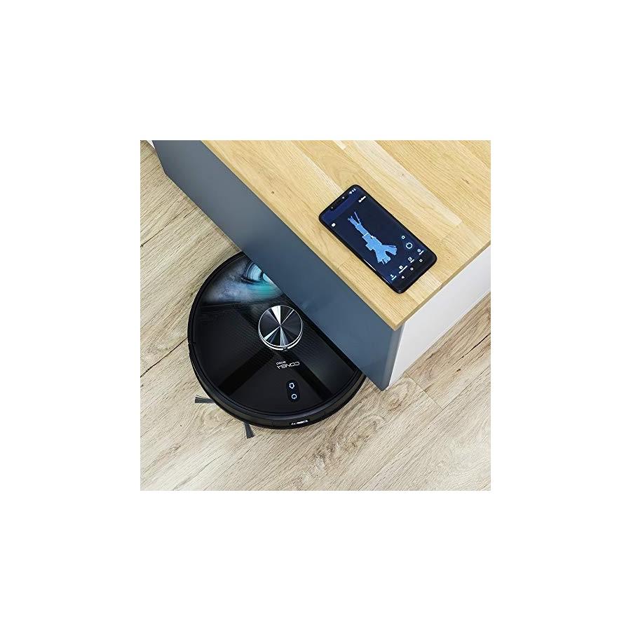 Cecotec Robot aspirateur Conga 4690 Ultra. Technologie laser