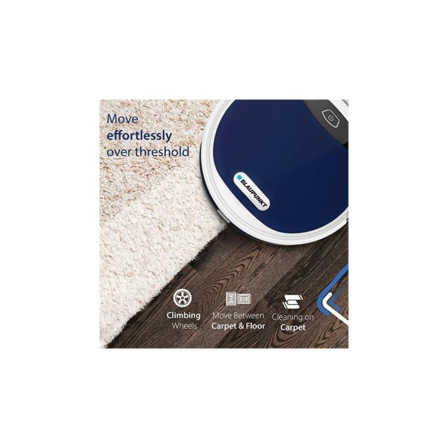 Blaupunkt Bluebot XEASY - Robot Aspirateur, contrôle avec Alexa