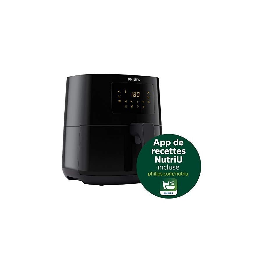 Philips HD9252/90 Airfryer Compact Noir - Bien plus quune