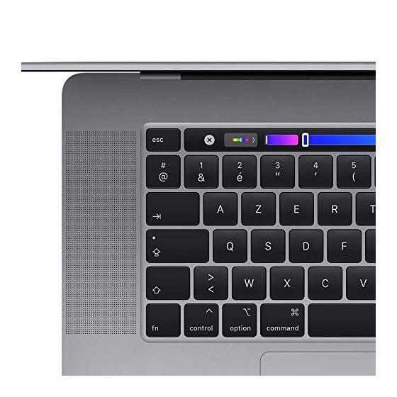 2019 Apple MacBook Pro  16Pouces, 16Go RAM, 512Go de Stockage  - Gris Sidéral