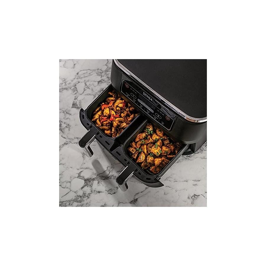 Ninja [AF300EU] Foodi, Friteuse sans Huile Air Fryer Double