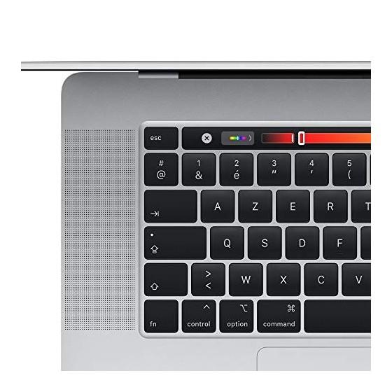 2019 Apple MacBook Pro  16Pouces, 16Go RAM, 512Go de Stockage  - Argent