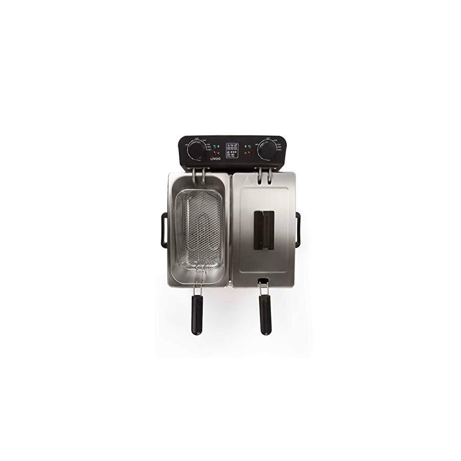 LIVOO Feel good moments - Friteuse électrique double DOC217