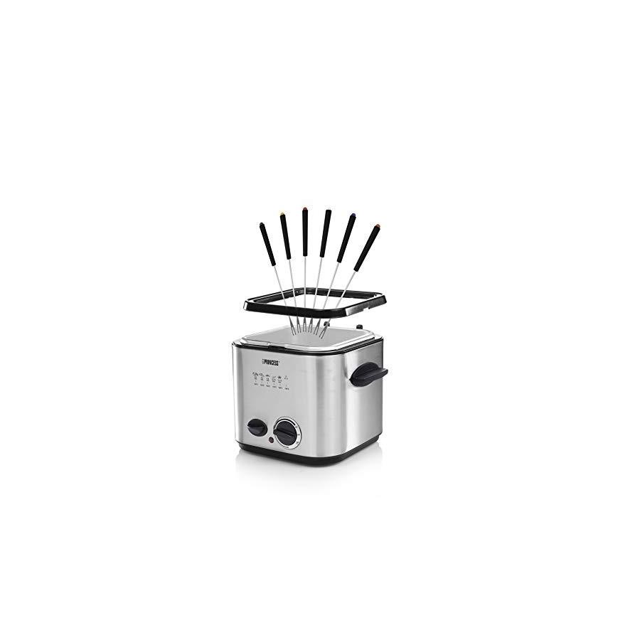 Mini friteuse et Fondue Princess 182611 – Chauffage rapide –