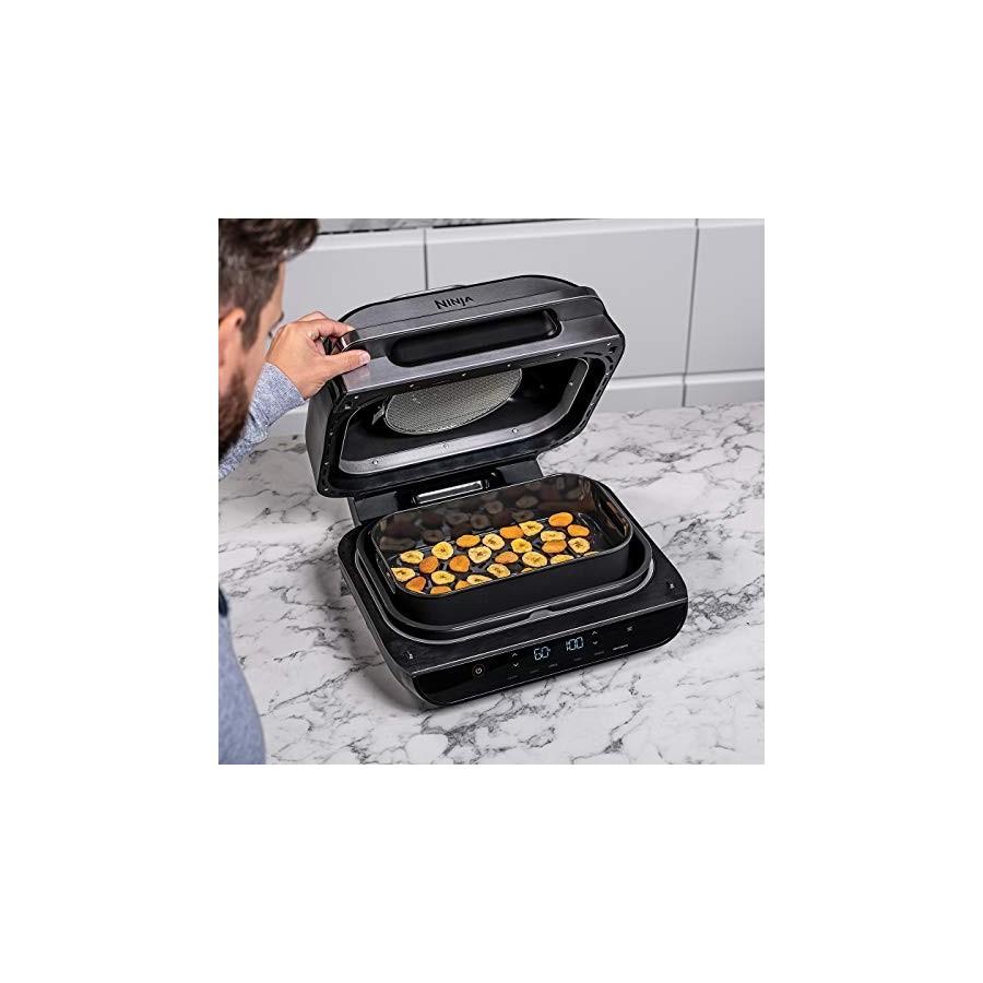 Ninja Grill & friteuse à air Foodi Max [AG551EU] avec sonde de